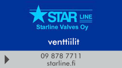 Starline Valves Oy logo